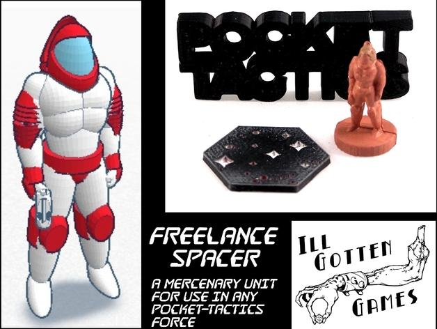 Pocket-Tactics:自由职业人 3D模型  图3