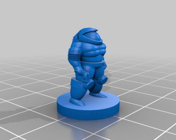 Pocket-Tactics:自由职业人 3D模型  图4