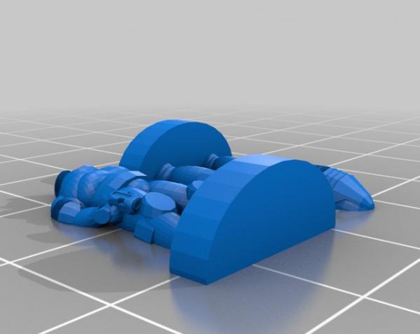 Pocket-Tactics:自由职业人 3D模型  图5
