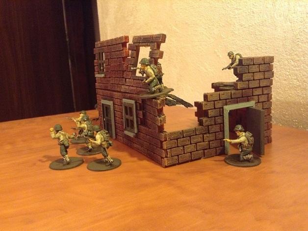 迷你墙壁模型 3D模型  图3
