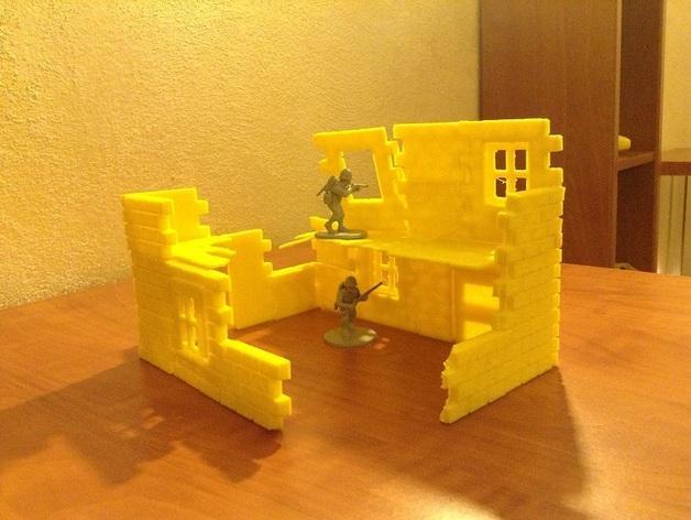 迷你墙壁模型 3D模型  图5