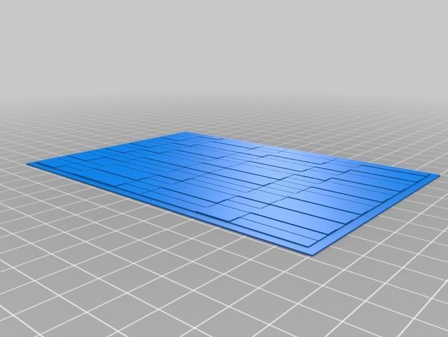 迷你墙壁模型 3D模型  图7