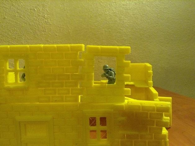 迷你墙壁模型 3D模型  图6
