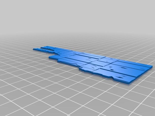 迷你墙壁模型 3D模型  图8