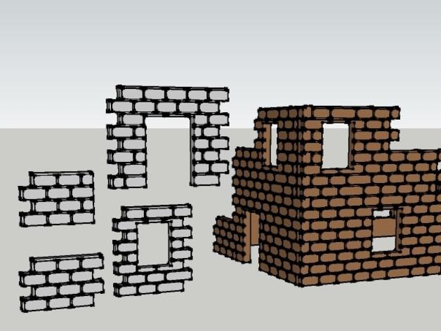 迷你墙壁模型 3D模型  图13