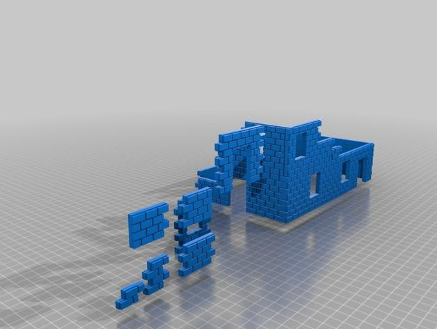 迷你墙壁模型 3D模型  图12