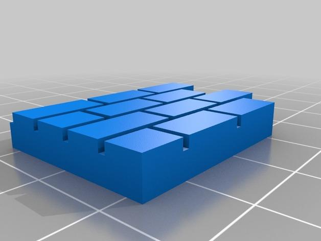 迷你墙壁模型 3D模型  图14