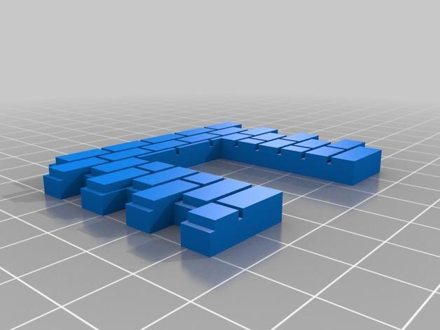 迷你墙壁模型 3D模型  图15