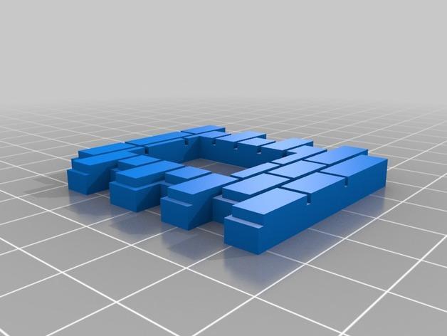 迷你墙壁模型 3D模型  图16