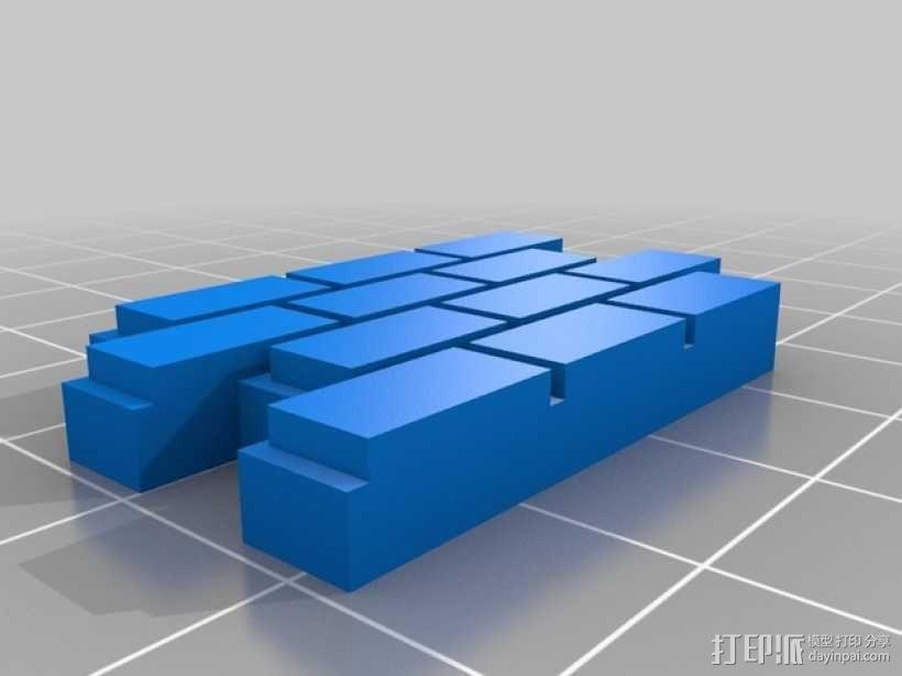 迷你墙壁模型 3D模型  图18