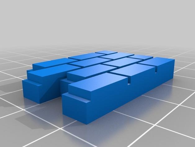 迷你墙壁模型 3D模型  图17