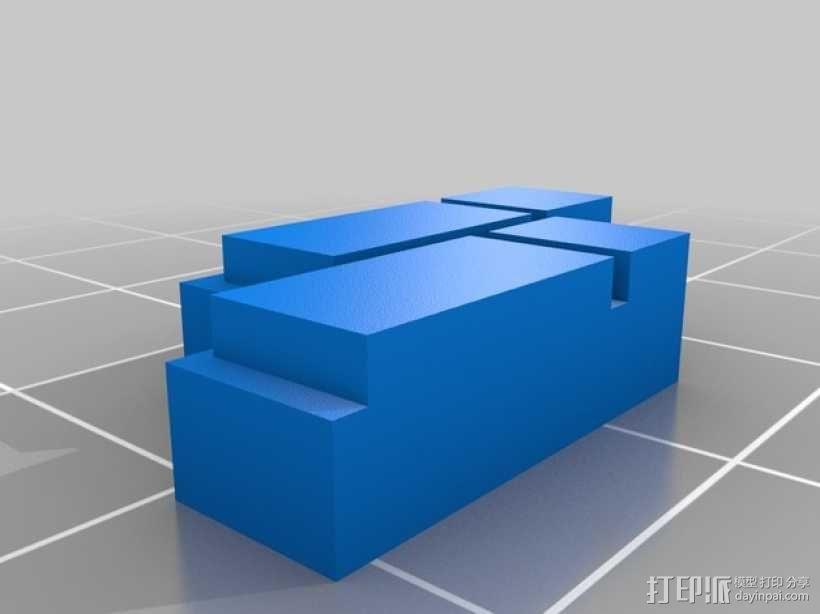 迷你墙壁模型 3D模型  图20