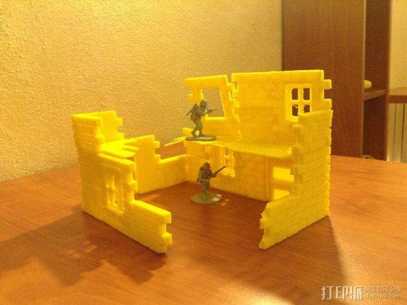 迷你墙壁模型 3D模型  图22