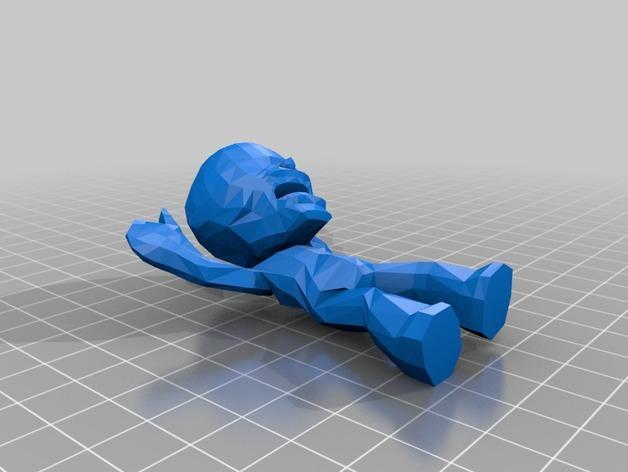 死亡滚球:僵尸模型 3D模型  图2