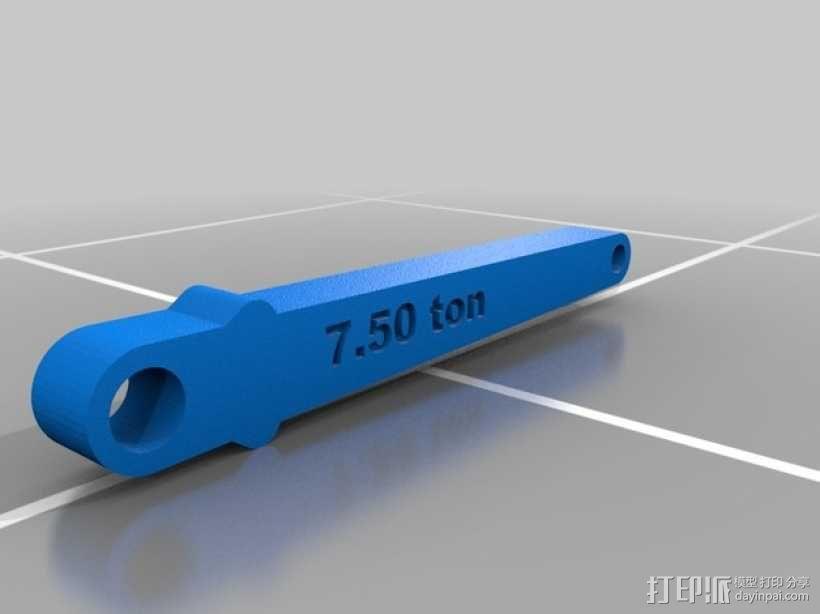 Delta船的船锚模型 3D模型  图4