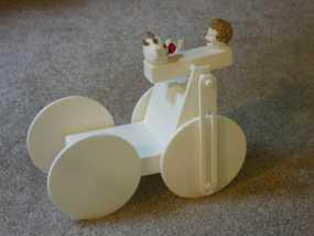 迷你手推车模型 3D模型