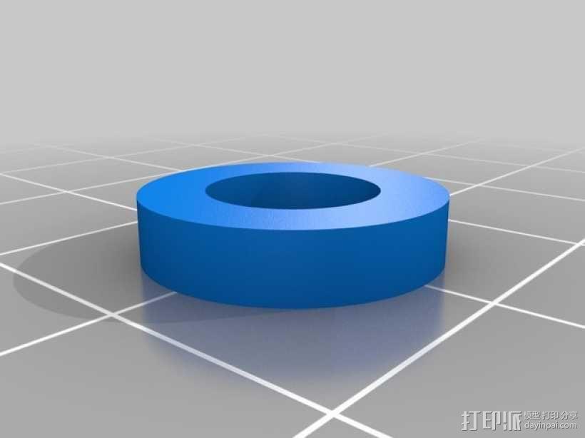 迷你手推车模型 3D模型  图3