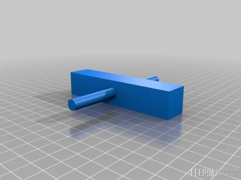 迷你手推车模型 3D模型  图9