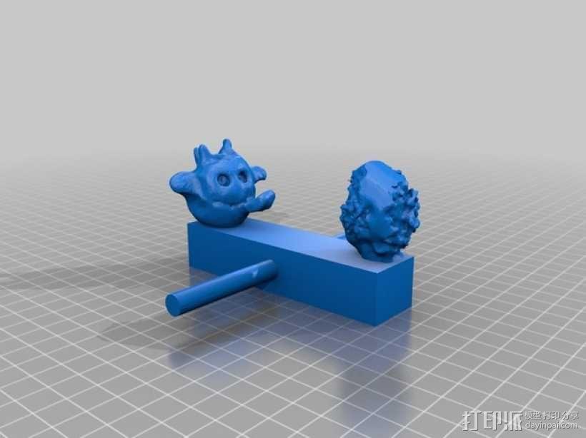 迷你手推车模型 3D模型  图11