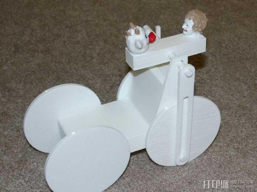 迷你手推车模型 3D模型  图12