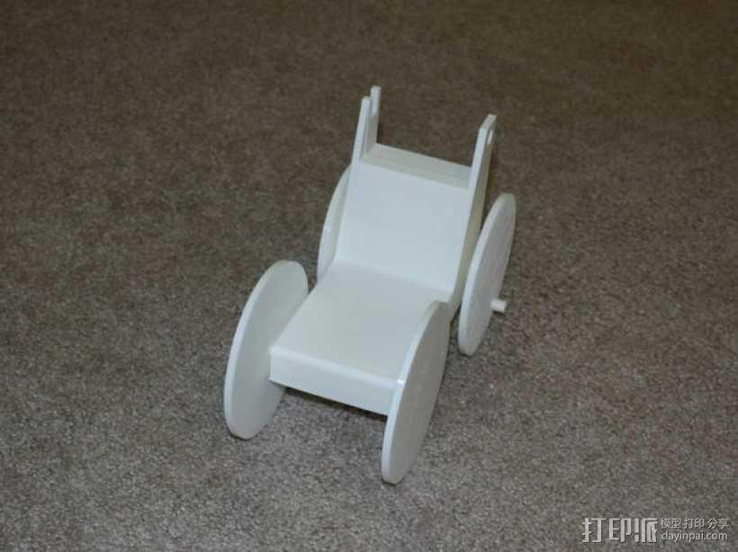 迷你手推车模型 3D模型  图14