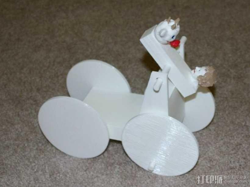 迷你手推车模型 3D模型  图16