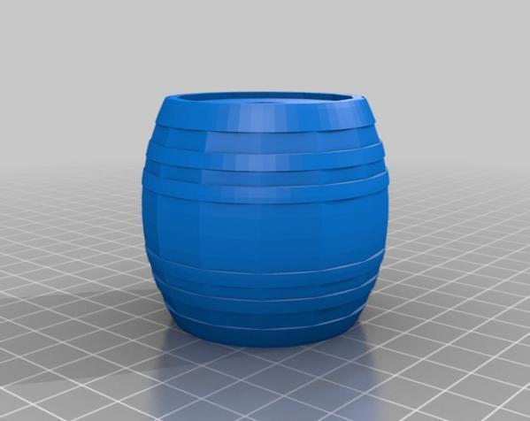 桶形小球迷宫模型 3D模型  图5