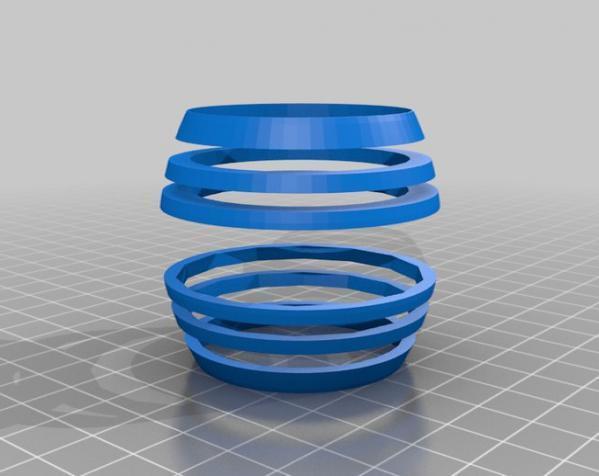 桶形小球迷宫模型 3D模型  图8