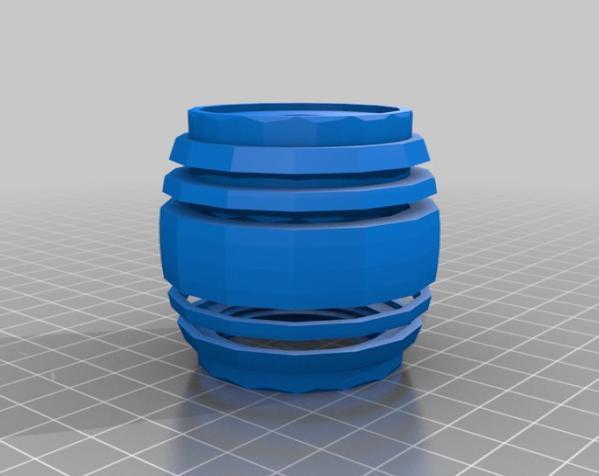桶形小球迷宫模型 3D模型  图9