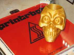 骷髅头形骰盅模型 3D模型