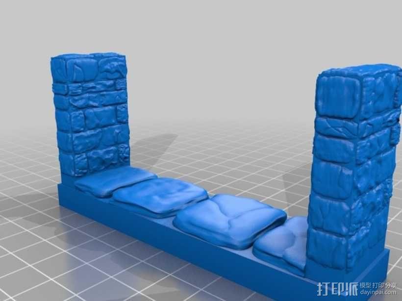 OpenForge地牢走廊模型 3D模型  图5