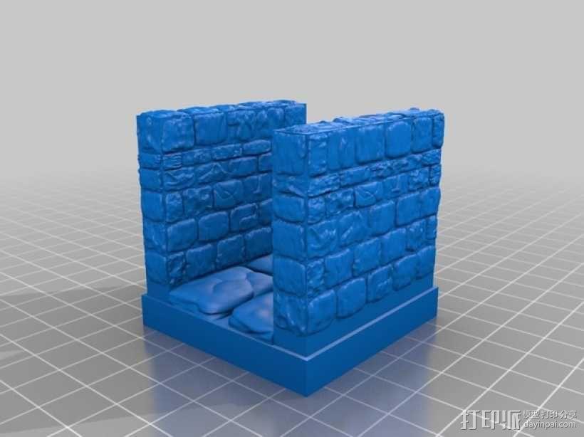 OpenForge地牢走廊模型 3D模型  图6