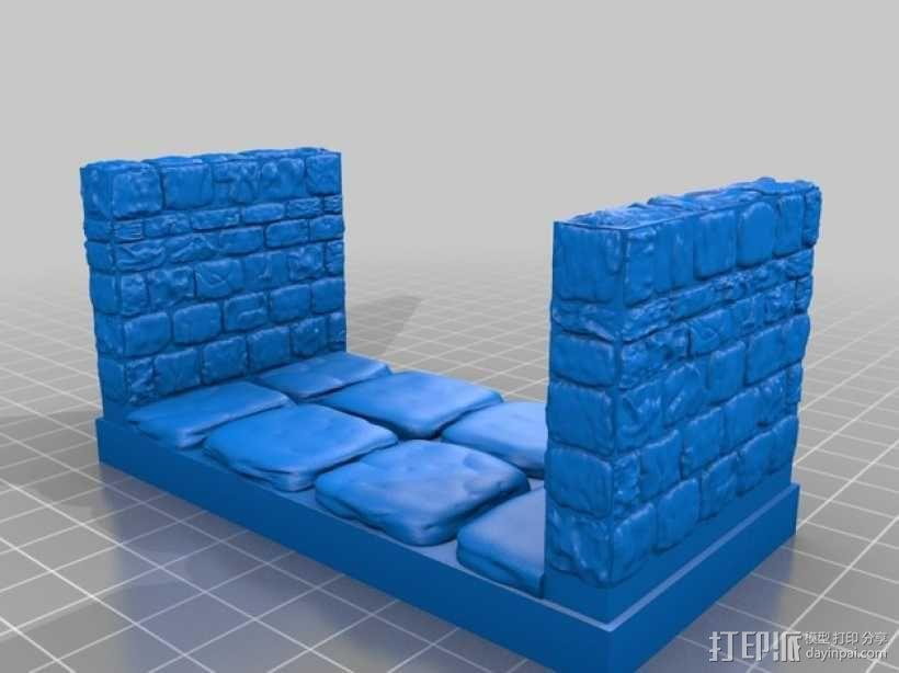 OpenForge地牢走廊模型 3D模型  图8