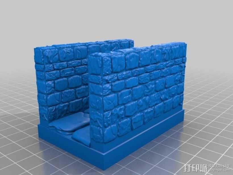 OpenForge地牢走廊模型 3D模型  图9