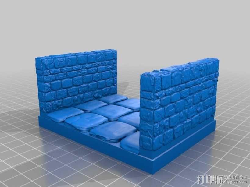 OpenForge地牢走廊模型 3D模型  图11