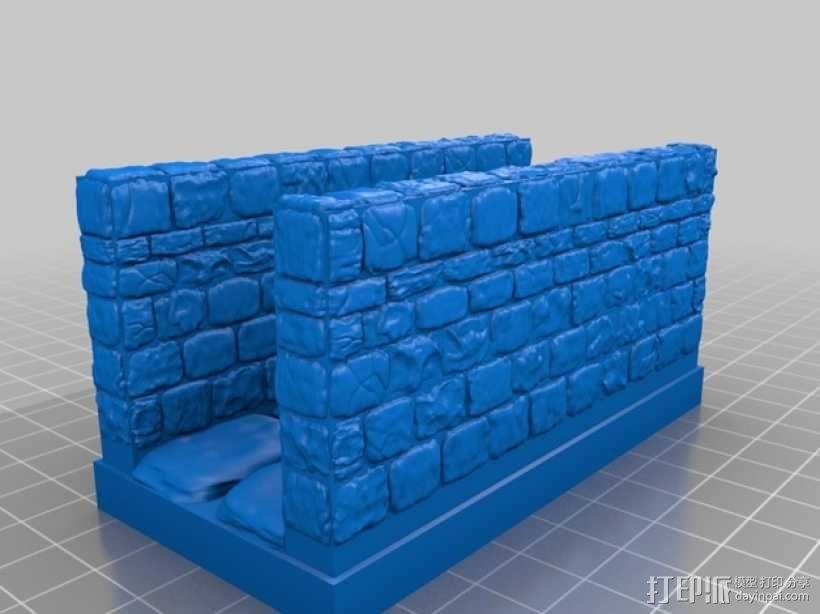OpenForge地牢走廊模型 3D模型  图12