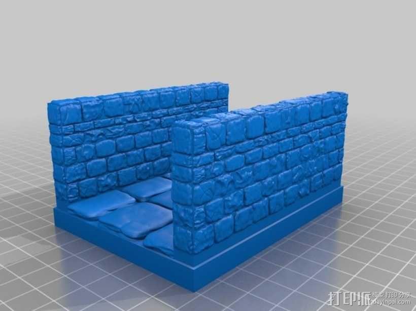 OpenForge地牢走廊模型 3D模型  图13
