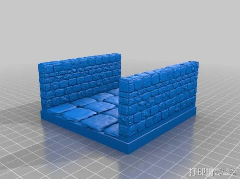 OpenForge地牢走廊模型 3D模型  图14