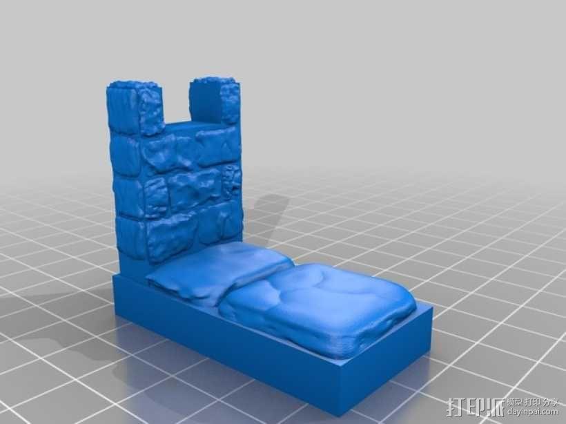 OpenForge雉堞墙 3D模型  图4