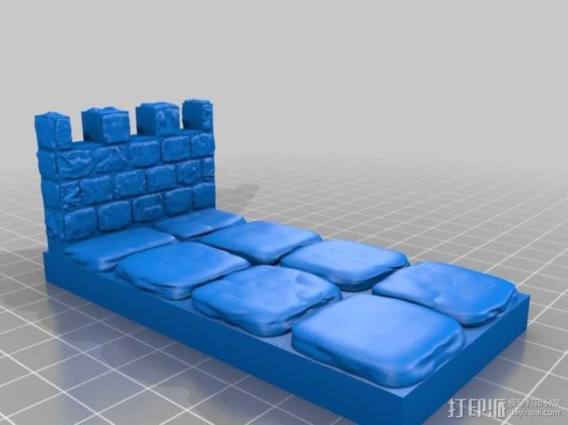 OpenForge雉堞墙 3D模型  图10