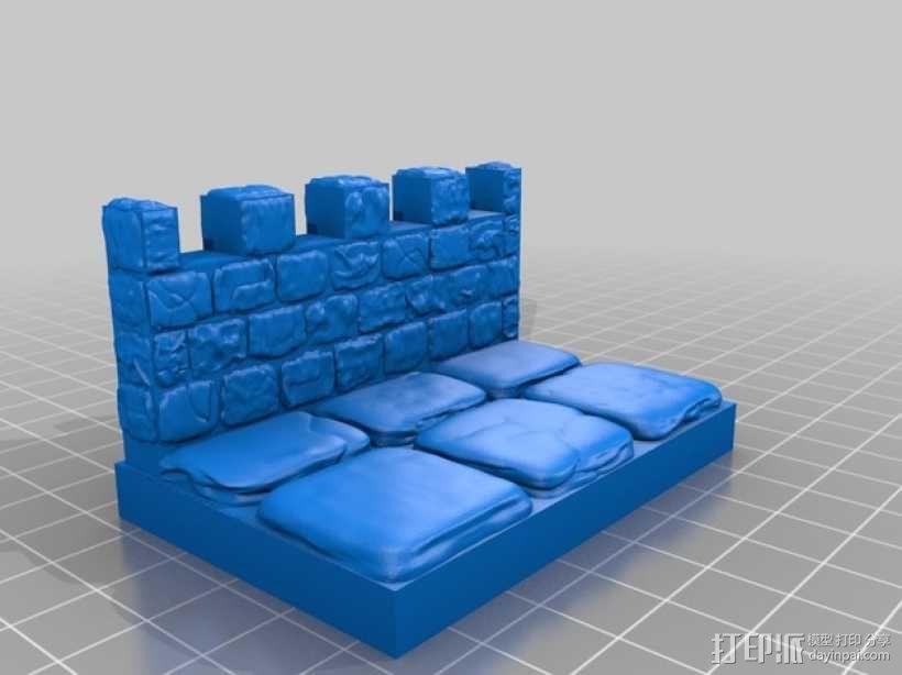OpenForge雉堞墙 3D模型  图12