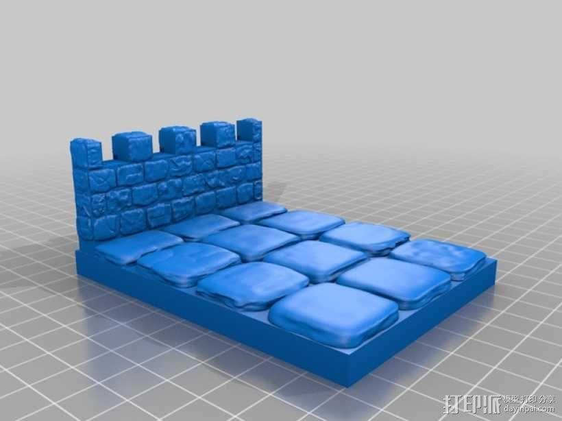 OpenForge雉堞墙 3D模型  图14