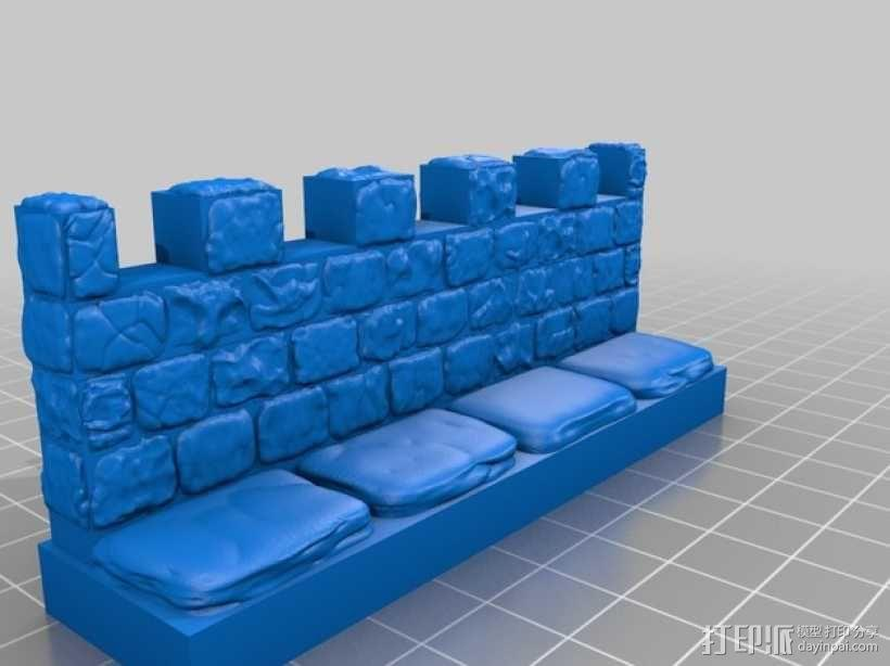 OpenForge雉堞墙 3D模型  图16
