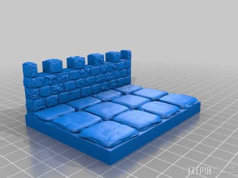 OpenForge雉堞墙 3D模型  图17