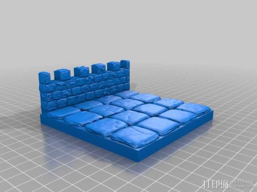 OpenForge雉堞墙 3D模型  图18