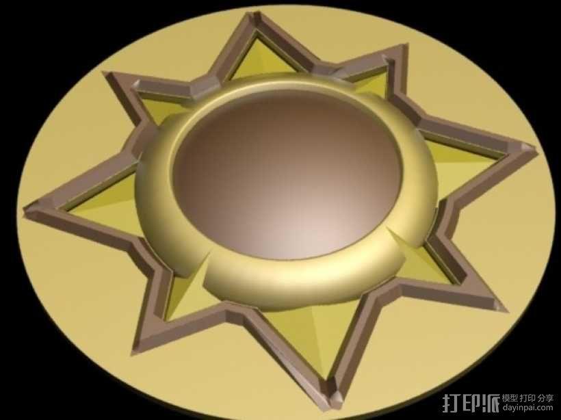 《炉石传说》游戏盒 3D模型  图3