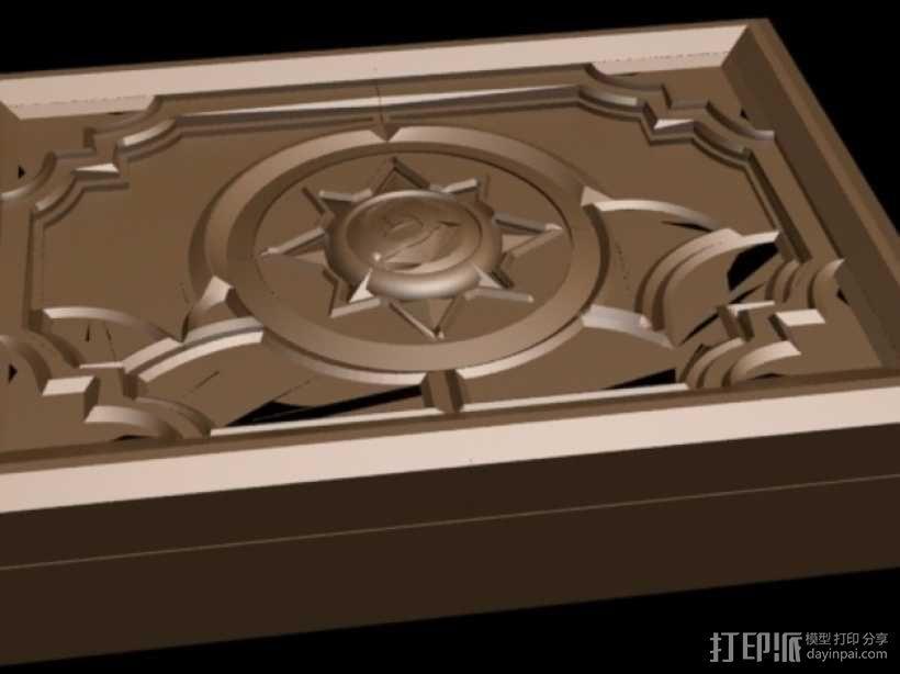 《炉石传说》游戏盒 3D模型  图2