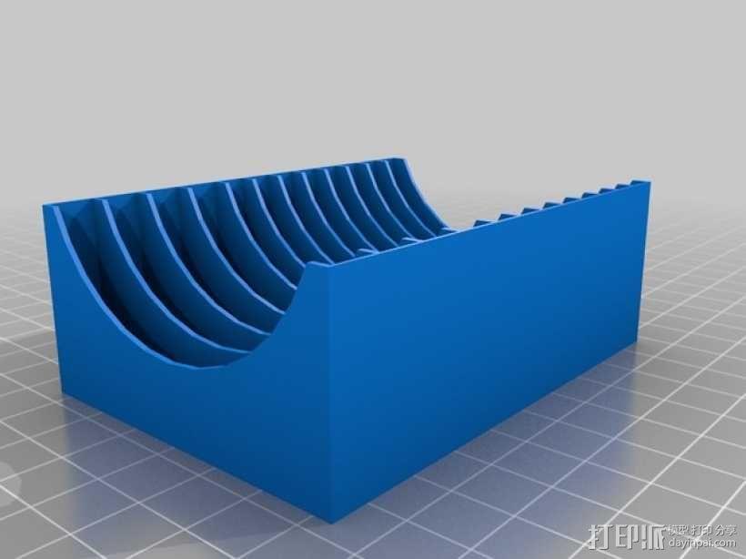 《X翼战机》游戏卡盒 3D模型  图2