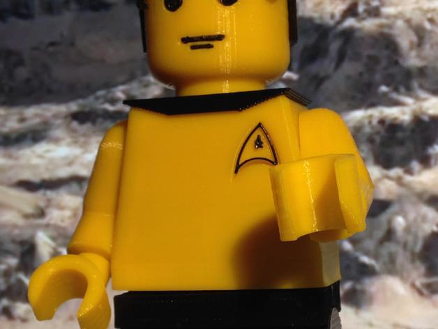 乐高星际迷航人物模型 3D模型  图2