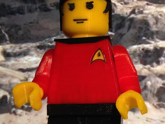 乐高星际迷航人物模型 3D模型  图5